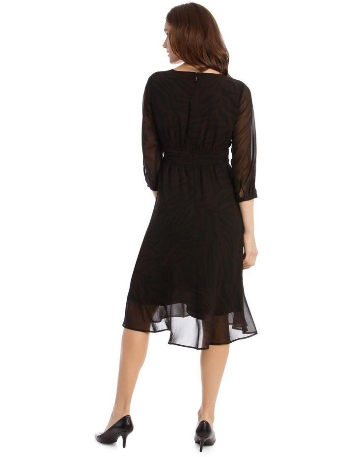 Soft Wrap Midi Dress image 3