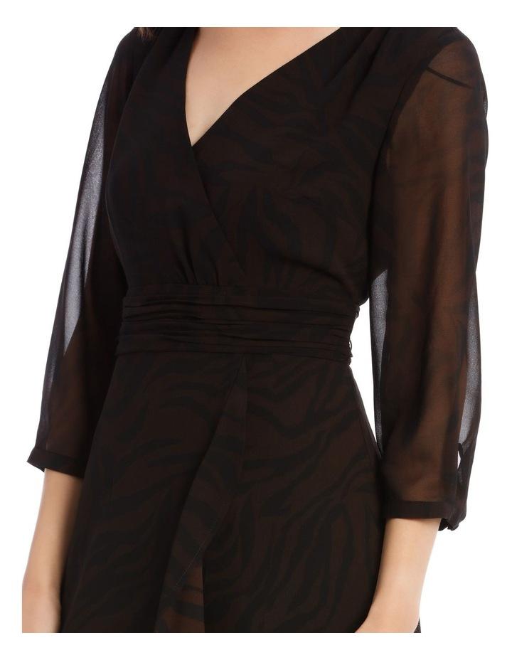 Soft Wrap Midi Dress image 4