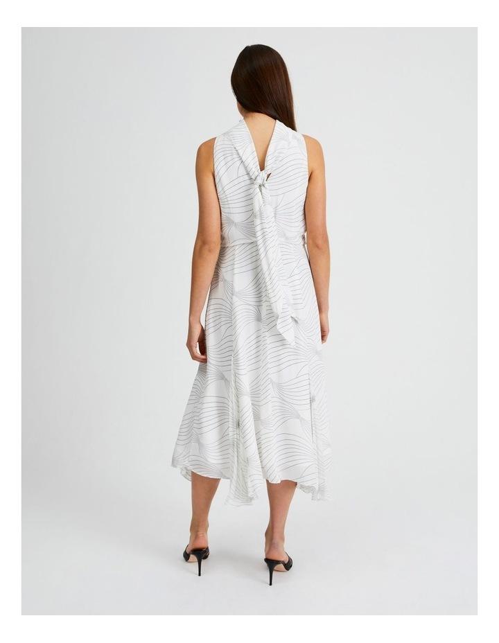 High Neck Godet Dress image 2