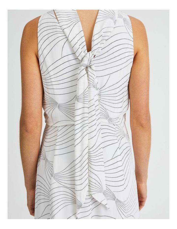 High Neck Godet Dress image 5