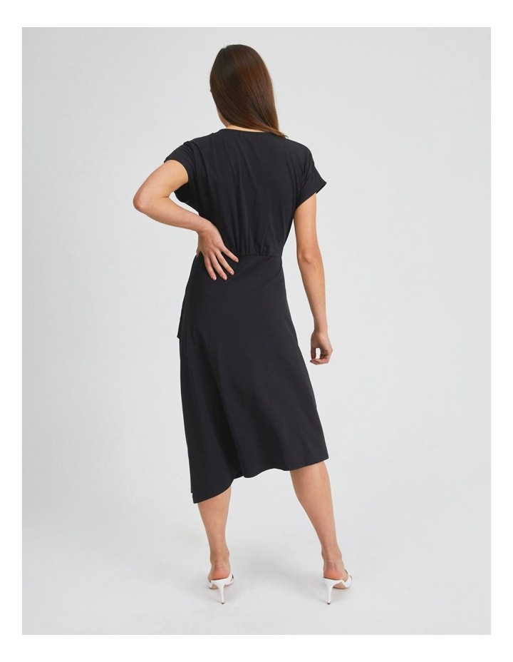 Wrap Jersey Dress image 3