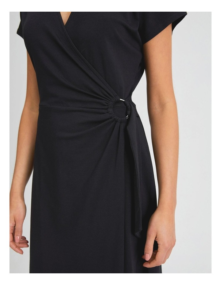 Wrap Jersey Dress image 4