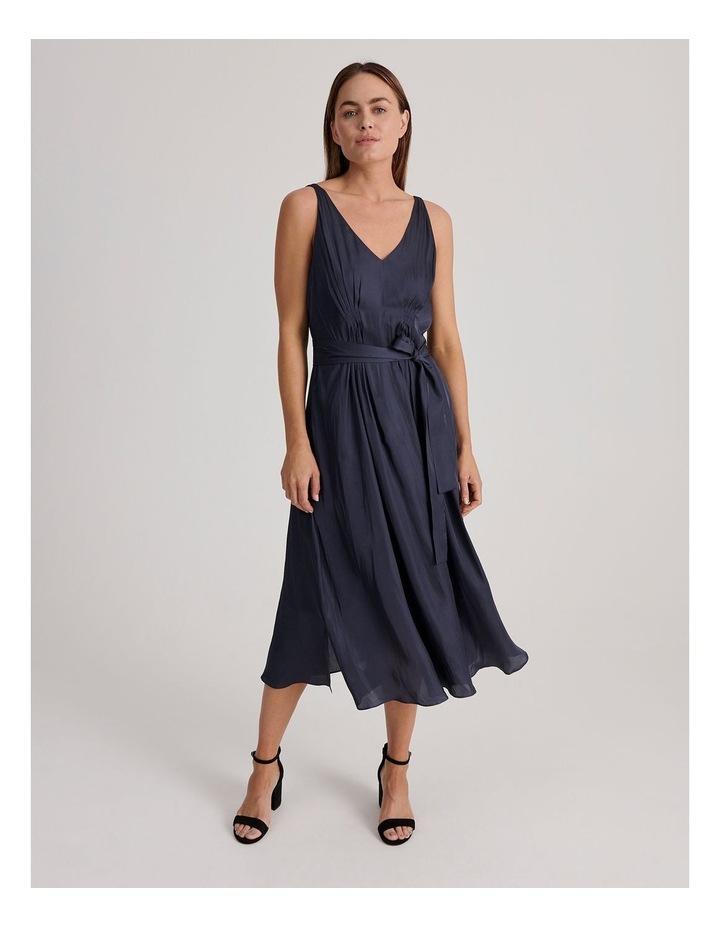 V Neck Maxi Dress image 1