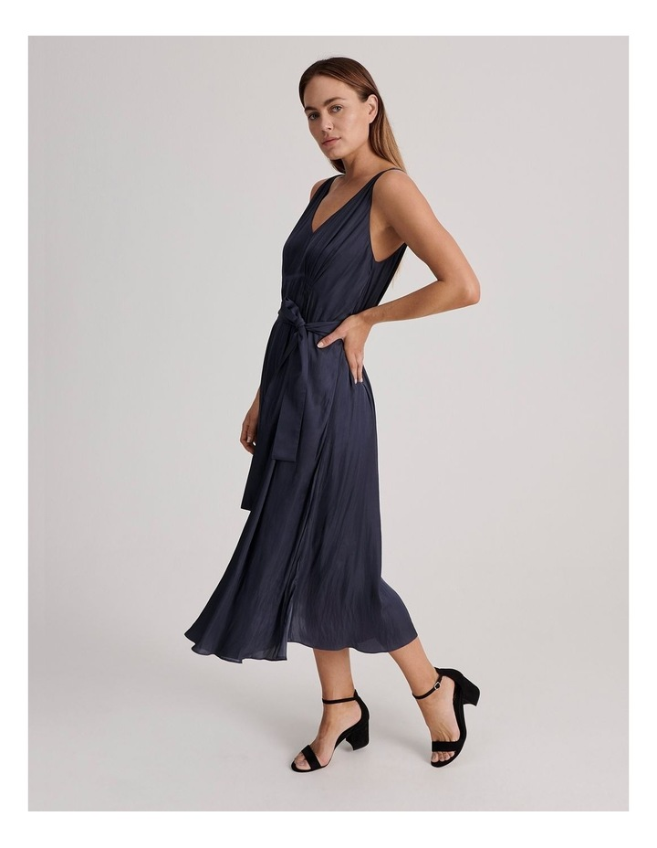 V Neck Maxi Dress image 2