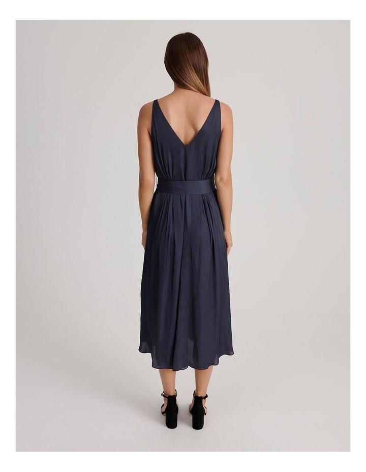 V Neck Maxi Dress image 3