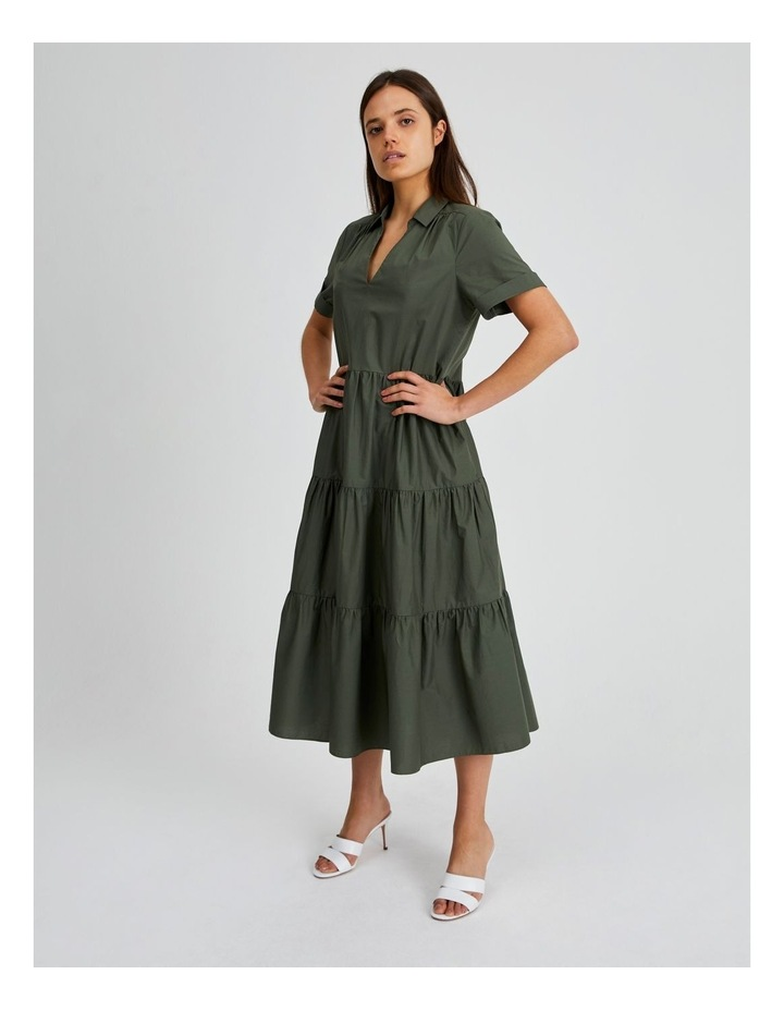Tiered Cotton Dress image 2