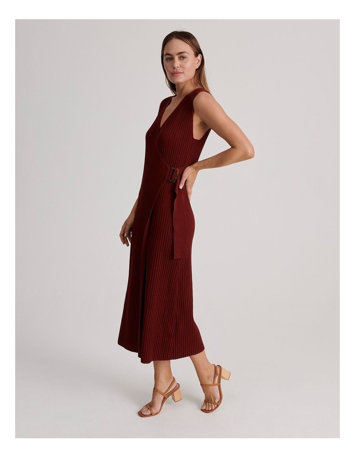 Ribbed Knitted Dress image 2