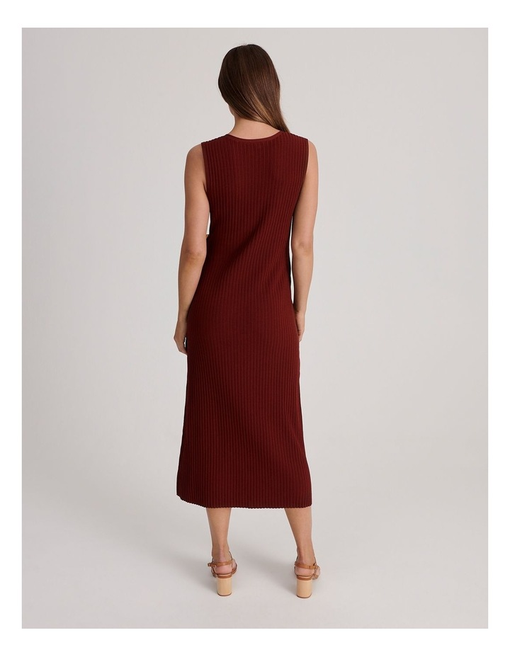 Ribbed Knitted Dress image 3