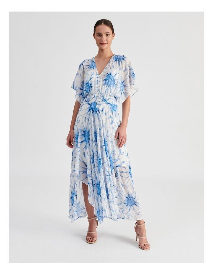 Ruffle Sleeve Maxi Dress image 1