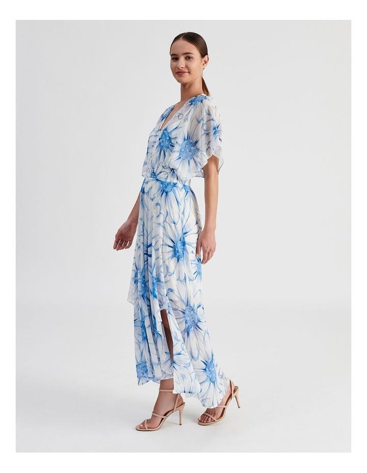Ruffle Sleeve Maxi Dress image 2