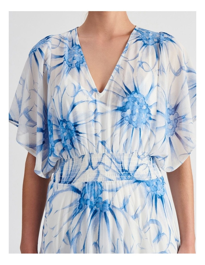 Ruffle Sleeve Maxi Dress image 4