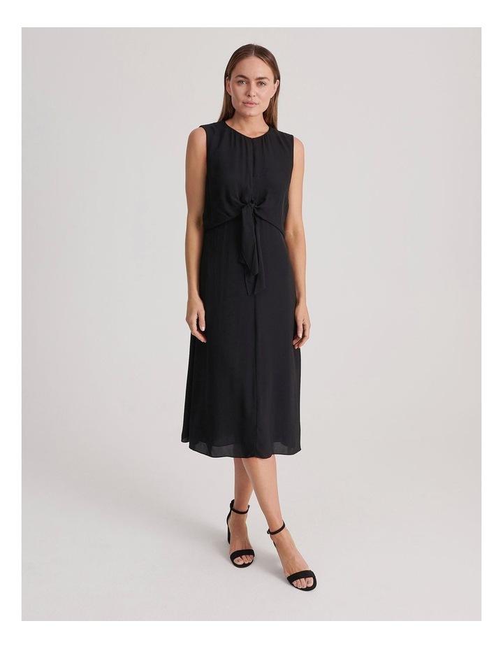 Basque Tie Front Dress image 1