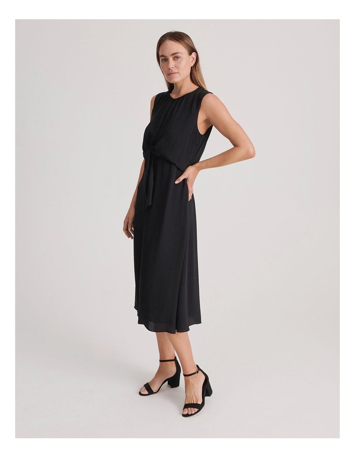 Basque Tie Front Dress image 2