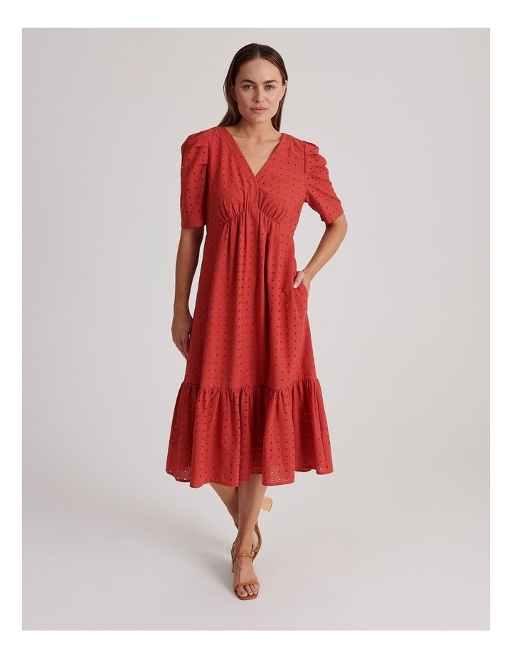 Cotton Broderie Dress image 1