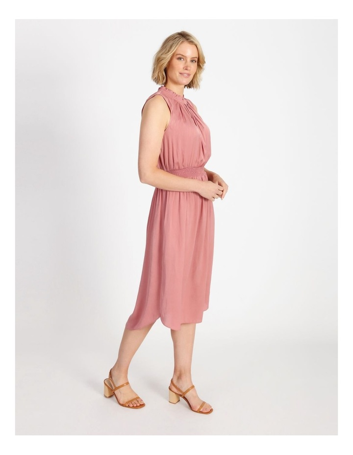 Shirre Waist Midi Dress image 2