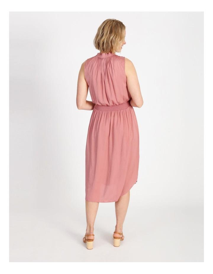 Shirre Waist Midi Dress image 3