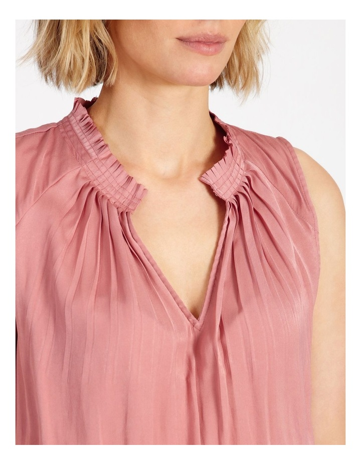 Shirre Waist Midi Dress image 5