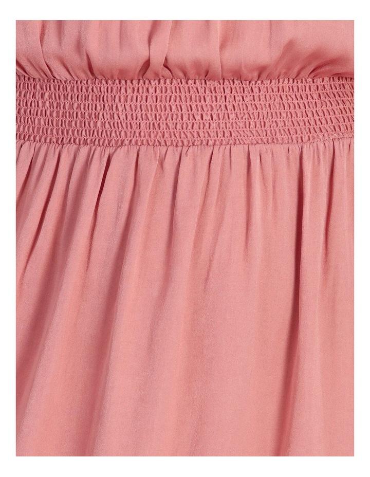 Shirre Waist Midi Dress image 6