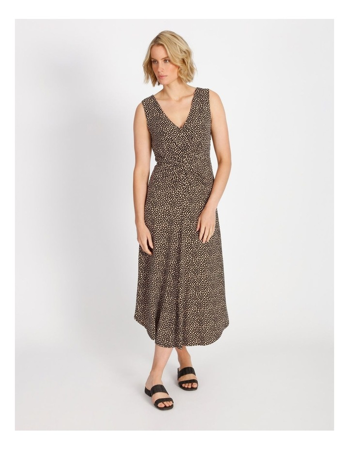 Tuck Front Jersey Dress image 1