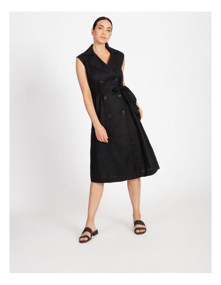 Organic Linen Shirt Dress image 1