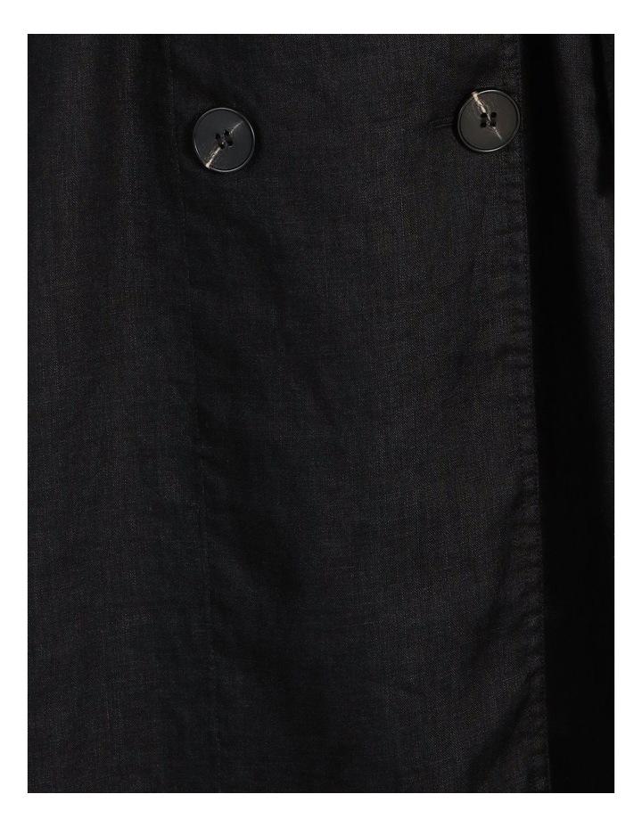 Organic Linen Shirt Dress image 5
