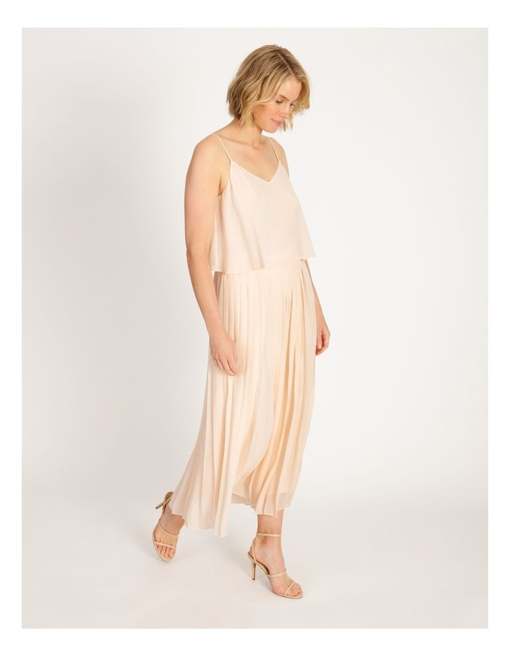 Pleated Overlay Jumpsuit image 2