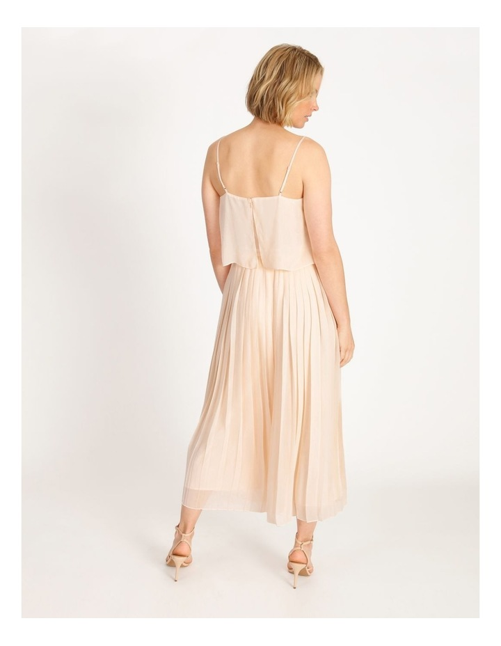 Pleated Overlay Jumpsuit image 3