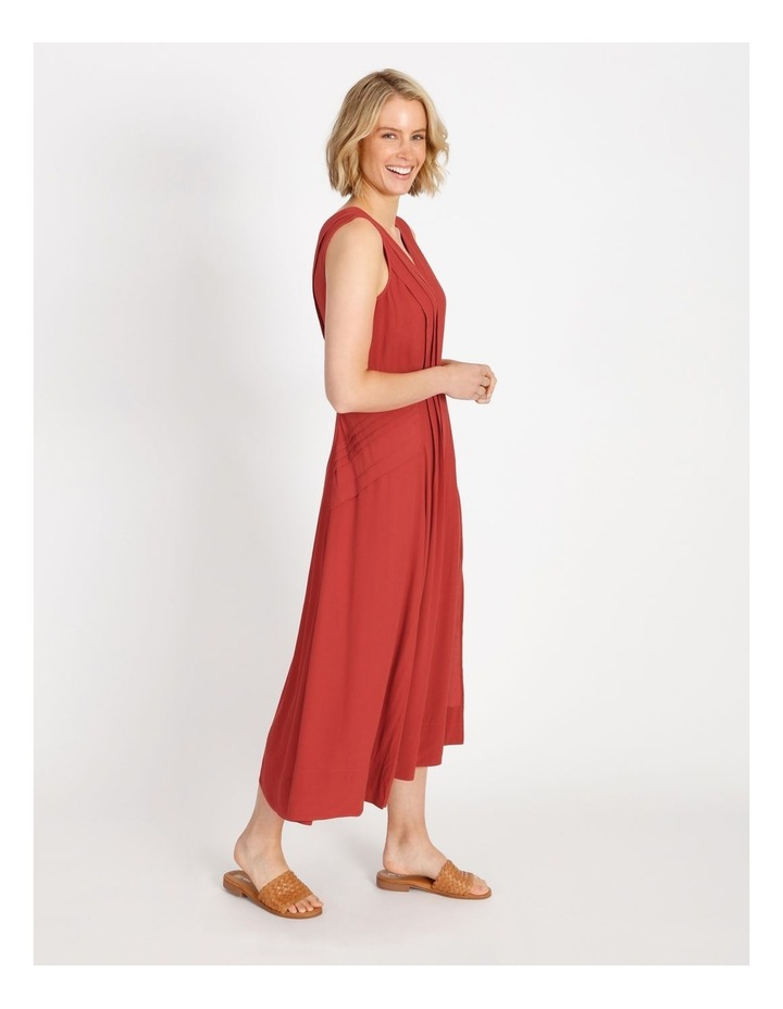 Pleat Summer Midi Dress image 2