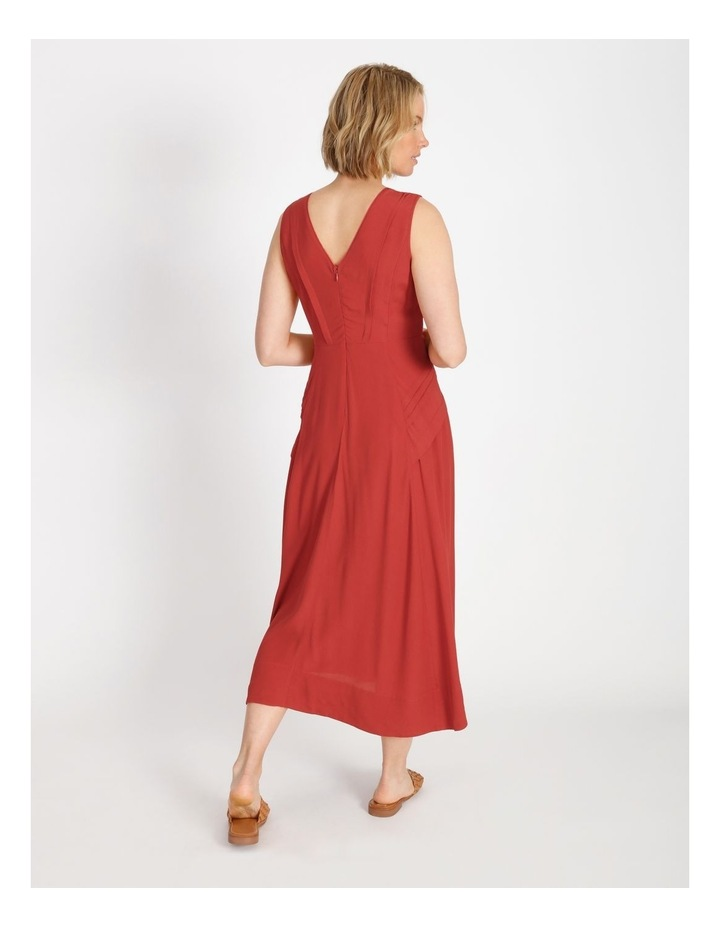 Pleat Summer Midi Dress image 3