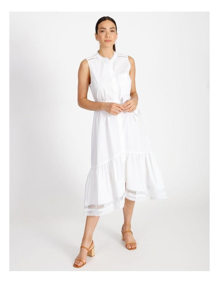 Hi Lo Cotton Trim Dress image 1