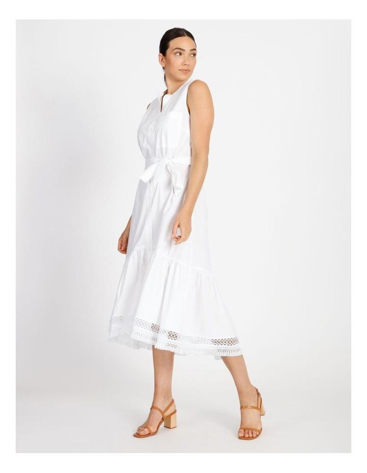 Hi Lo Cotton Trim Dress image 2