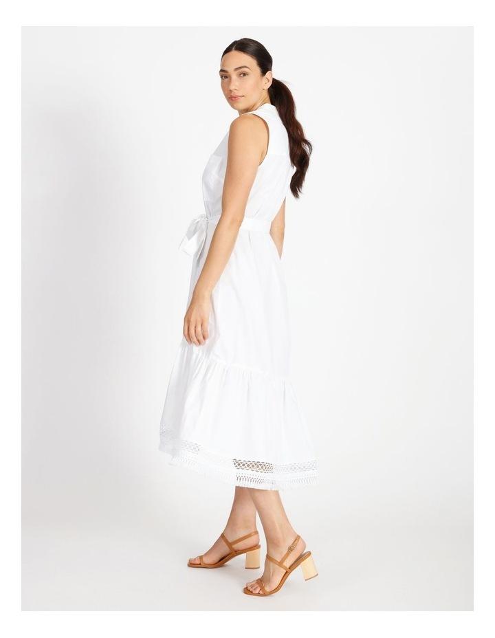 Hi Lo Cotton Trim Dress image 3