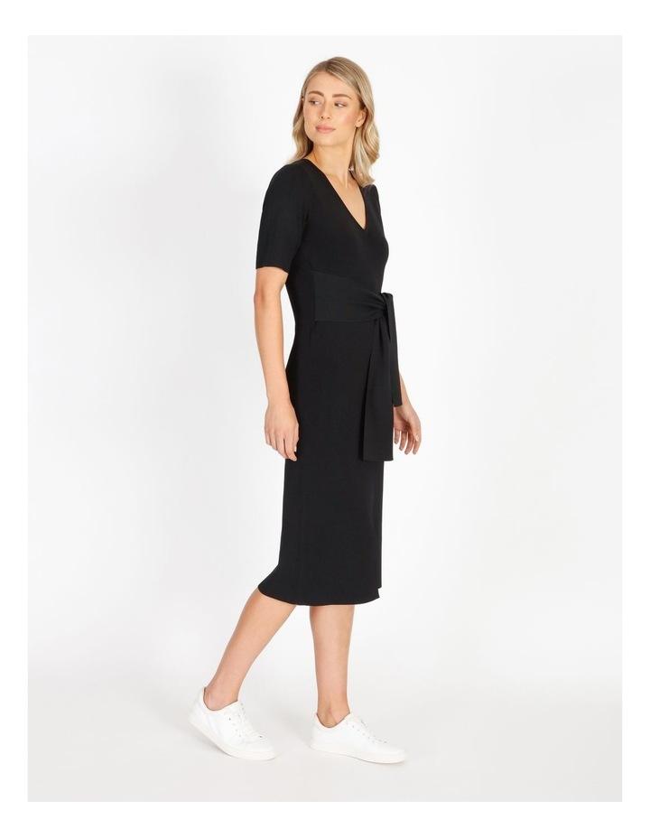 Short Sleeve Milano Dress image 2