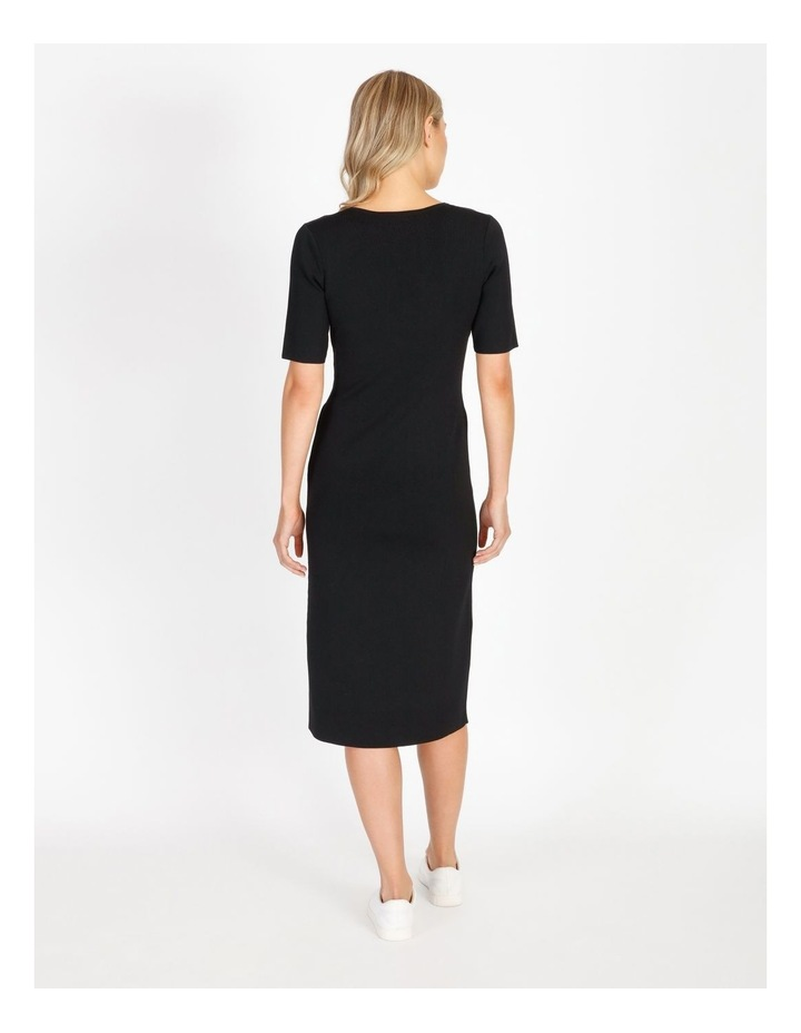 Short Sleeve Milano Dress image 3