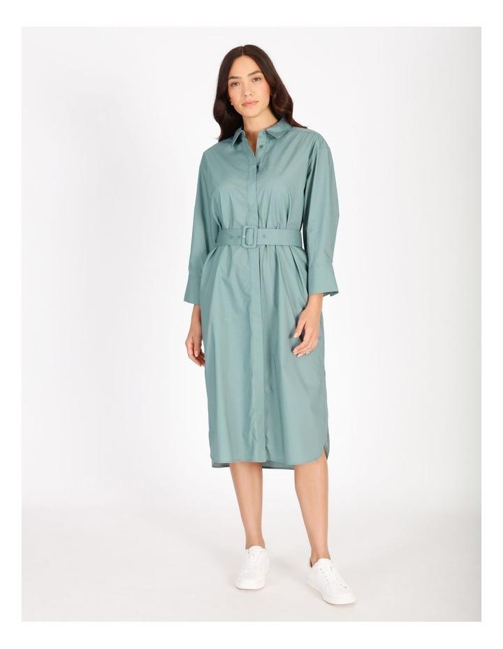 Poplin Shirt Dress image 1