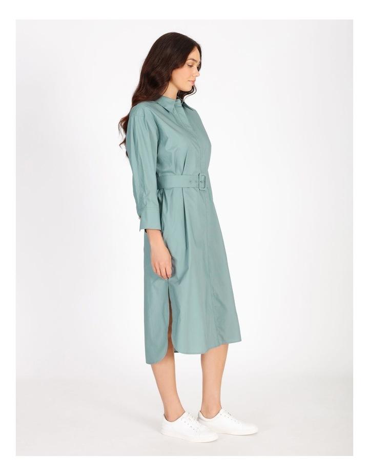 Poplin Shirt Dress image 2