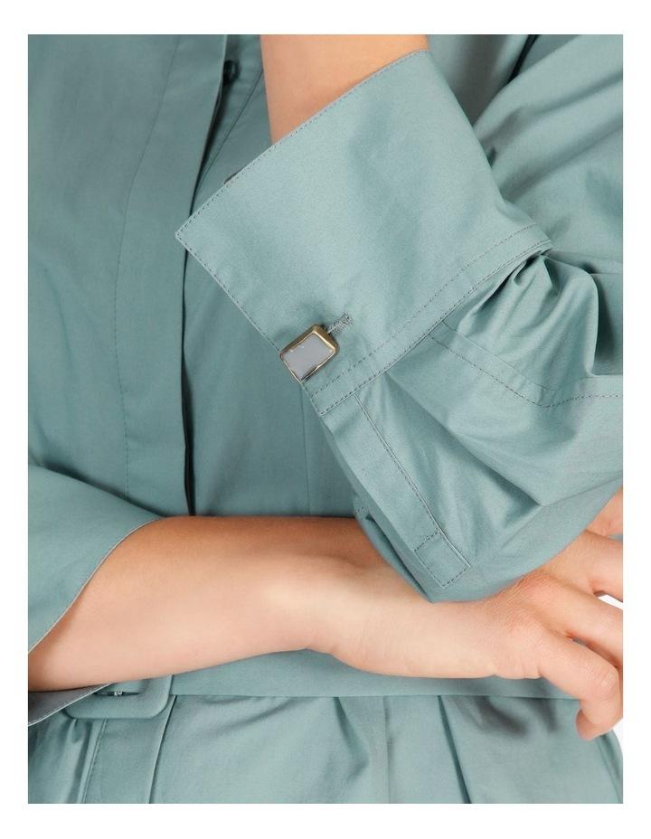 Poplin Shirt Dress image 4