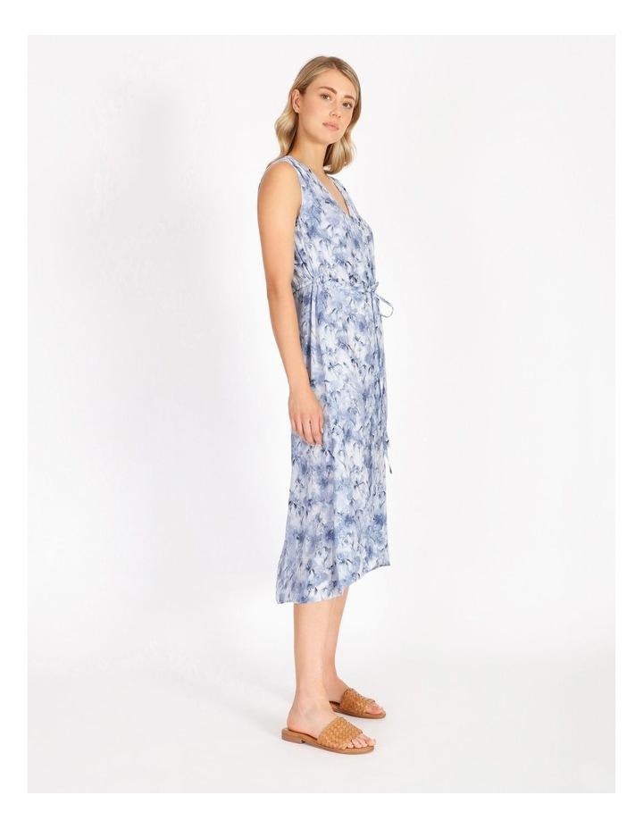 Self Tie Button Through Dress image 2