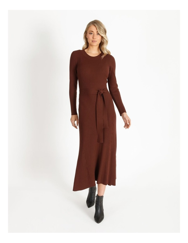 Ribbed Milano Aline Dress image 1