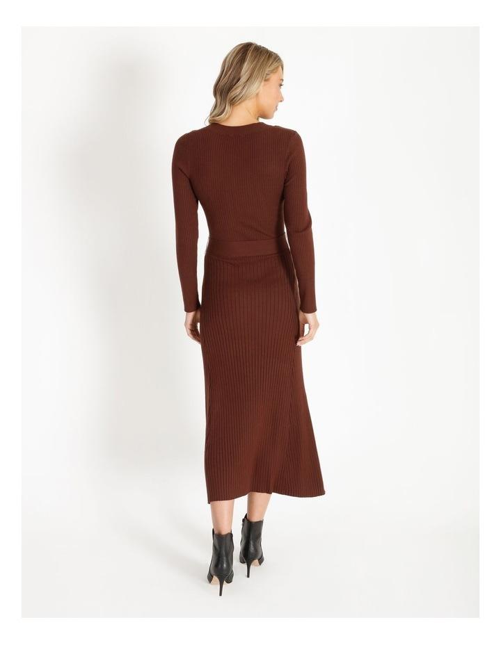 Ribbed Milano Aline Dress image 3