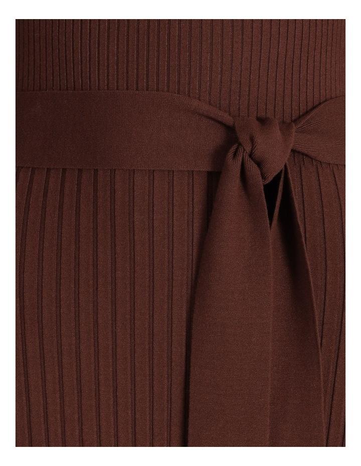 Ribbed Milano Aline Dress image 5
