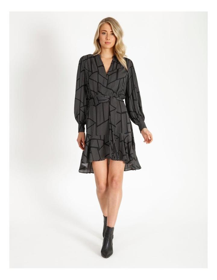 Dress With Flounce Skirt image 1