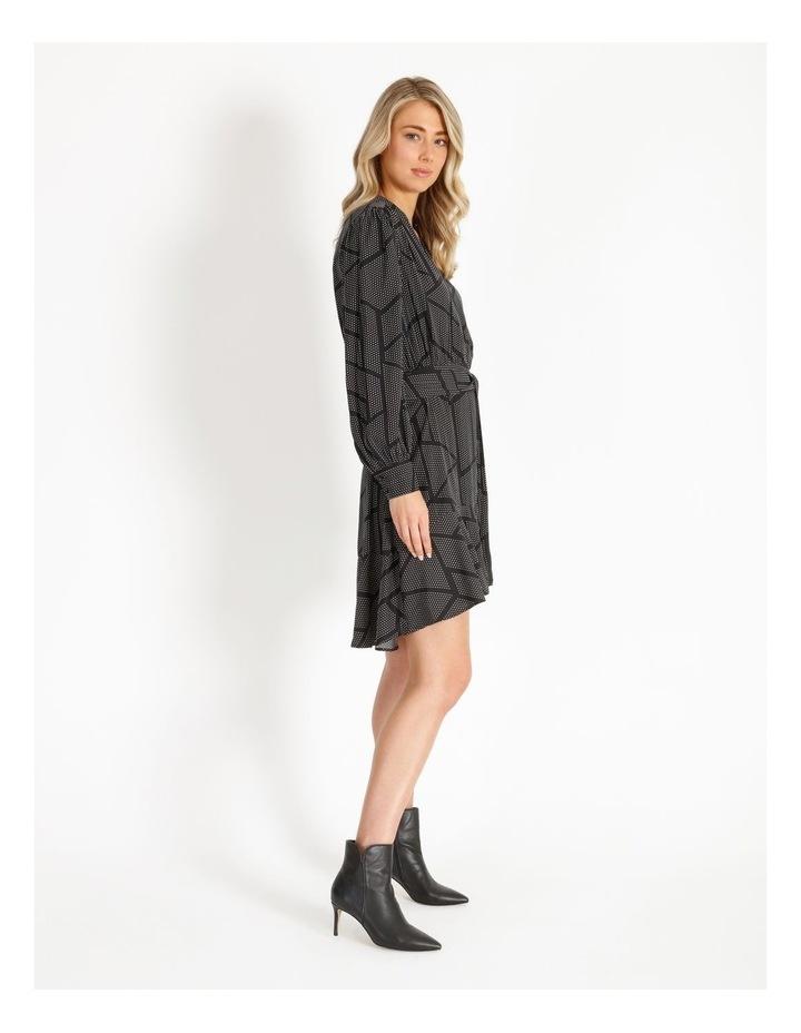 Dress With Flounce Skirt image 2