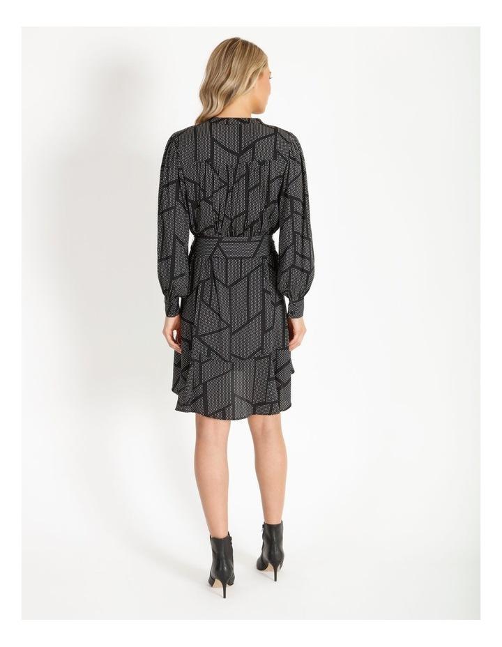 Dress With Flounce Skirt image 3