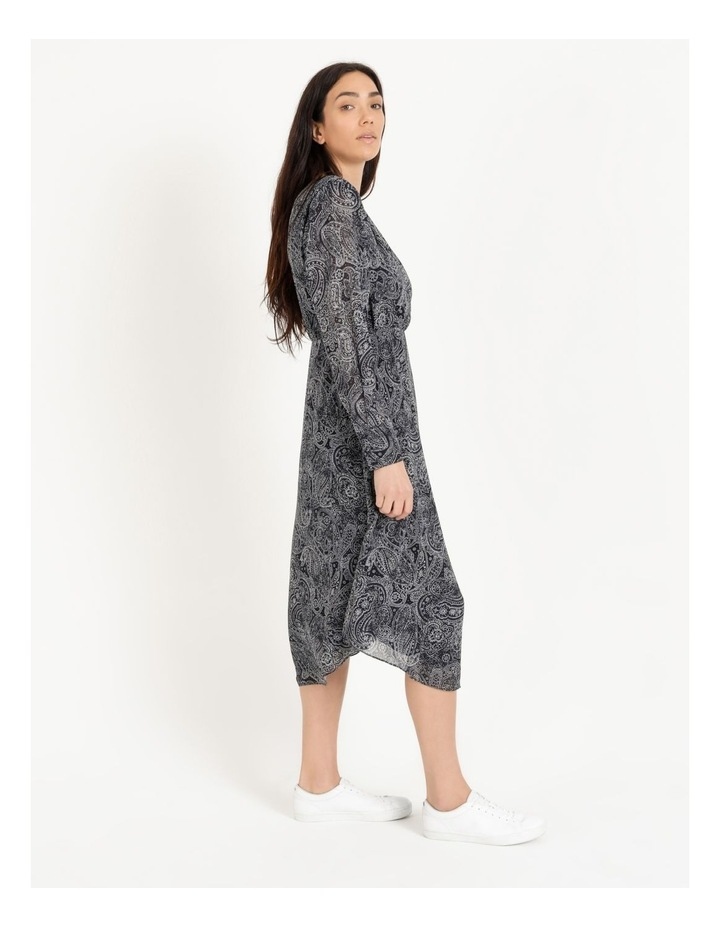 Wrap Bodice Midi Dress image 2