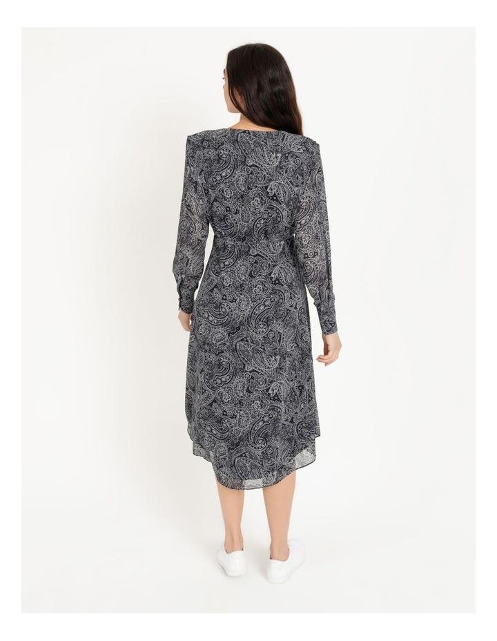 Wrap Bodice Midi Dress image 3