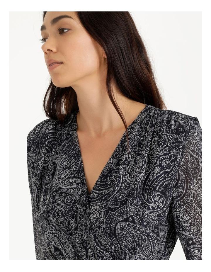 Wrap Bodice Midi Dress image 5