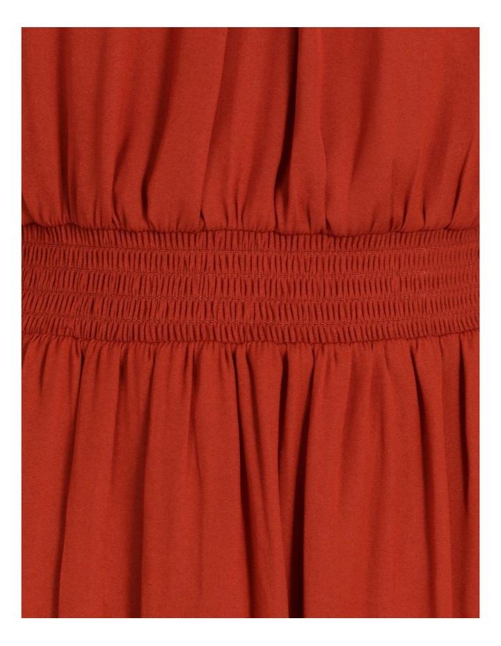 Shirred Detail Long Sleeve Dress image 6