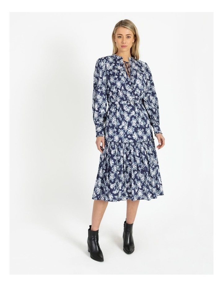 Tiered Belted Dress image 1