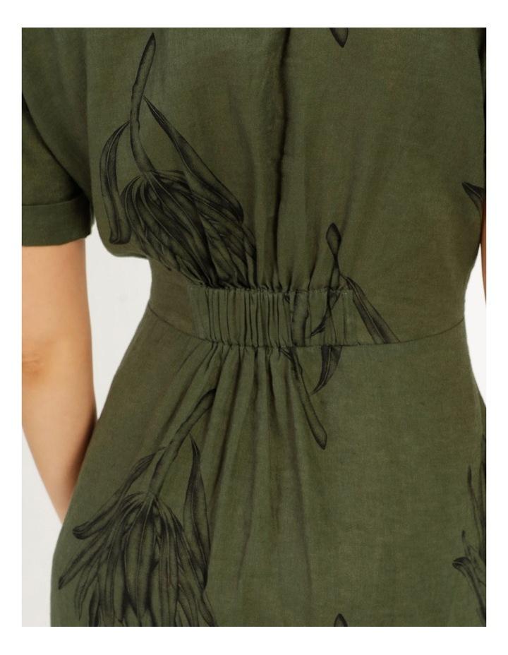 Tie Front Linen Dress image 6